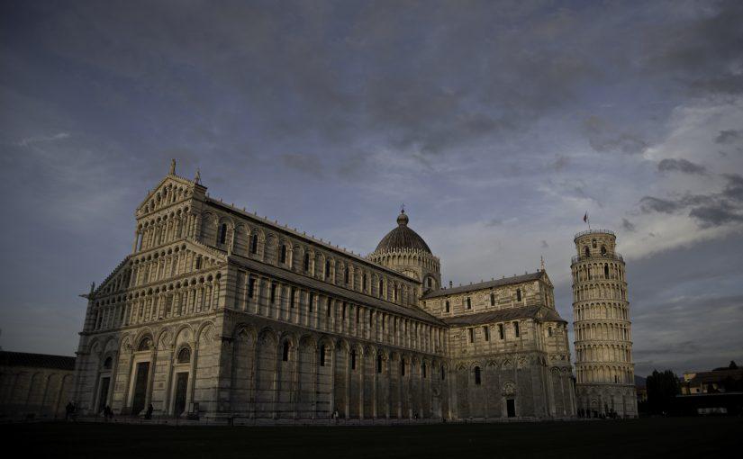 Von Pisa bis zur Olivenernte und dann schnell weg…